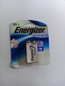 pin energizer 9v lithium L522
