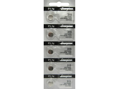 Energizer 315 – SR716SW Silver – 1.55V