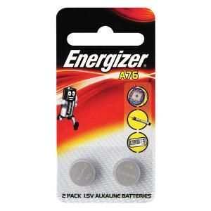 Pin A76 Energizer LR44 AG13 vỉ 2 viên