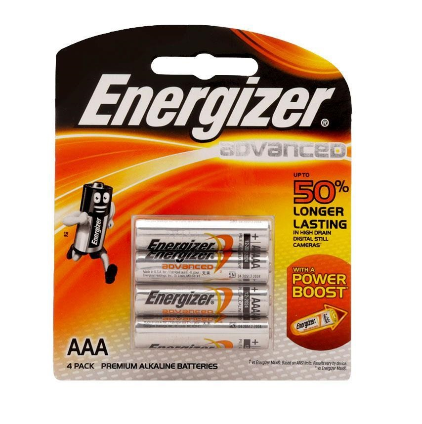 Pin energizer advanced x92 Rp2 aaa